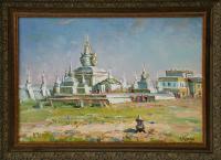 картина «монастырь - музей Эрфнэ - дзу в Каракоруме» - собственность частной коллекции.