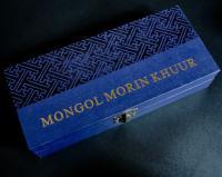 Моринхур миниатюра в футляре, Монголия Mongol Morin Khuur.