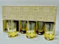 набор стаканов для виски, мозер.