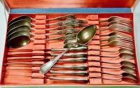 набор столового серебра 24 предмета Киев.