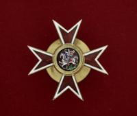 нагрудный знак Чугуевское ВУ до 1917 года