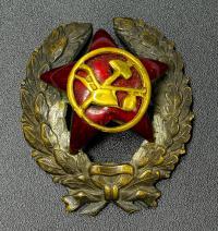 нагрудный знак красный командир