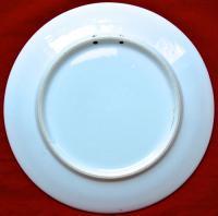 настенная декоративная тарелка «Петух» европа, начало XX века.