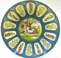 Настенная декоративная тарелка, Германия начало 20 века.