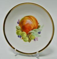Настенная коллекционная декоративная тарелка Натюрморт с фруктами.