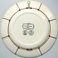 настенная тарелка, англия 2-я половина XX века.
