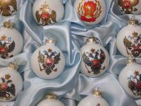 Набор елочных игрушек Россия