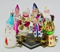 новогодние ёлочные игрушки, период ссср 1950 гг.