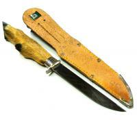 охотничий подарочный нож, «ножка косули» ГДР 1970 гг.