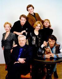 Олег Табаков, Владимир Машков, Евгений Миронов, Сергей Безруков, Марина Зудина, табакерка 1998 год.