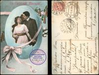 открытка почтовая «Со Светлой Пасхой» 1914 год.