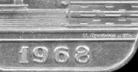 Памятная медаль Липецкий Чугунолитейный завод им. 60 - летия СССР  Центролит 1968 год.