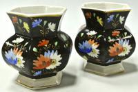 парные вазы миниатюры, дфз вербилки, период ссср 1940 гг.