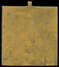 плашка вход в иерусалим господа нашего иисуса христа XIX век