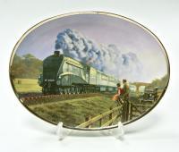 Поезда настенная коллекционная тарелка, Davenport Англия.