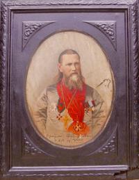 портрет Иоанна Кронштатского, конец XIX века