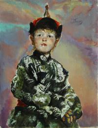 картина «Портрет» - собственность частной коллекции.