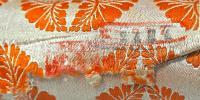 пояс для мужского кимоно япония 1950 гг.