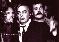 прощание с Владимиром Высоцким, театр на Таганке 28 июля 1980 года.