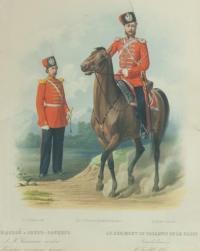 рядовой и обер - офицер Л. ГВ. Казачьяго полка.