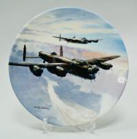 самолёты «Coalpor» Англия, коллекционная тарелка