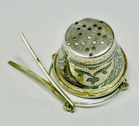 ситечко для чая серебро
