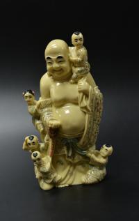 скульптура «Хотей с детьми», Китай 1960 гг.