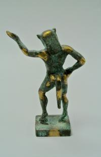 скульптура «Сатир-Satyros» греция.