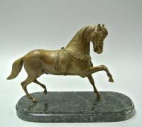 скульптура «Цирковая лошадка» уралбронза, современная Россия.