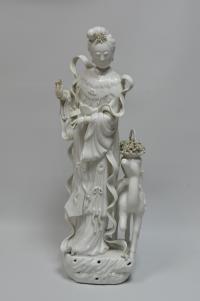 скульптура богини «Гуань Инь» Китай, начало XX века.