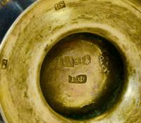 Сливочник серебро 84 пробы XIX век.