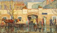 картина «старый Барнаул» - Собственность ГХМАК.