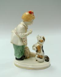 статуэтка «А ну-ка отними» полонне зхк, период ссср 1950 год.