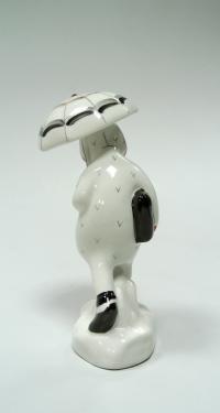 статуэтка «Девочка под зонтиком» лзфи