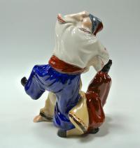 статуэтка «Казаки танцют гопак» киевский экхз, украина период ссср 1976-1991 гг.