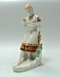 статуэтка «Любит- не любит» полонне зхк, украина период ссср 1973-1991 гг.