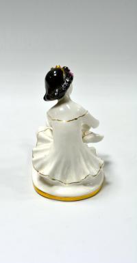 статуэтка «Маленькая балерина» лфз, период ссср 1970 гг.