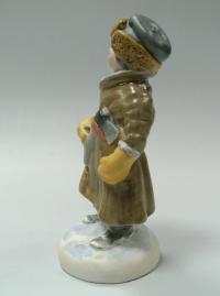 статуэтка «Мужичок с ноготок» песочное, период ссср 1953 год.