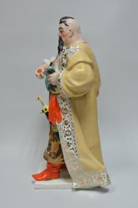 статуэтка «Тарас Бульба» ЗХК украинская сср 1970 гг, подарок министру мвд ссср Щёлокову Николаю Анисимовичу