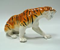 статуэтка «Тигр» лоз, лзфи, гики, период ссср 1960 гг.