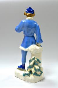 статуэтка «Юная Фигуристка» Киев, период ссср 1950 год