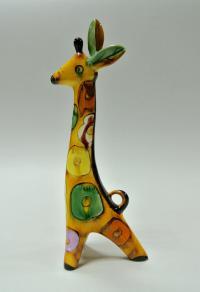 статуэтка «Жираф» зик конаково, период ссср 1970 гг.