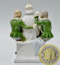 Статуэтка фарфор Голый Король По сказке Андерсена Новое платье императора Royal Copenhagen Дания 1975-79
