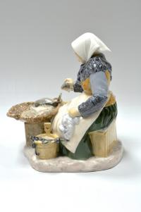 статуэтка фарфоровая «Рыбный рынок», Дания 1952-1958 гг.