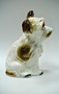 статуэтка фарфоровая «собака», румыния 1970-1980 гг.