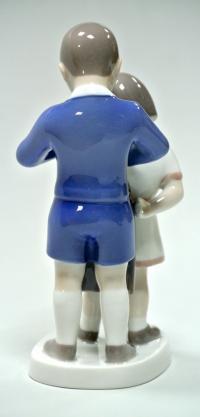Статуэтка фарфоровая Юный джентельмен, Bing Grondahl 1970 гг.