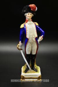 статуэтка генерал наполеоновской армии «La Fayette», германия 1970 гг.