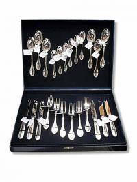 столовое серебро набор Император на шесть персон 24 предмета