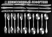 столовые приборы таллинского ювелирного завода, период ссср 1970 гг.