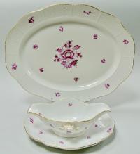 Столовый сервиз Herend Nanking Bouquet 25 предметов 1970 гг.